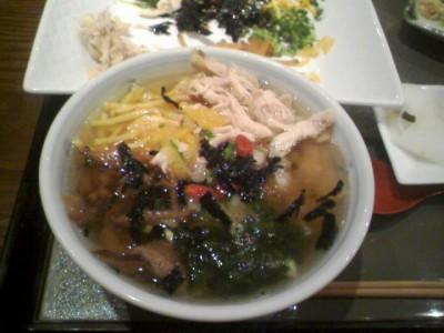鹿児島奄美大島「鶏飯」 2