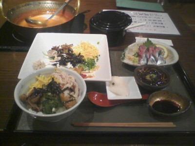 鹿児島奄美大島「鶏飯」 1